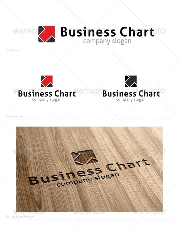 Business Chart - Vector Abstract