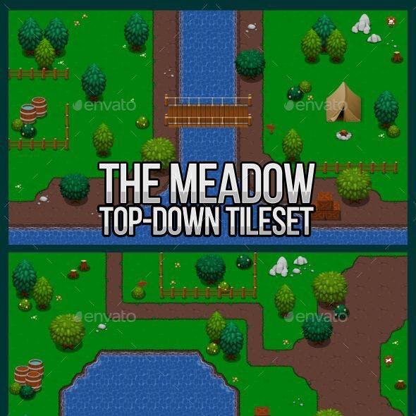 The Meadow - Top Down Tileset