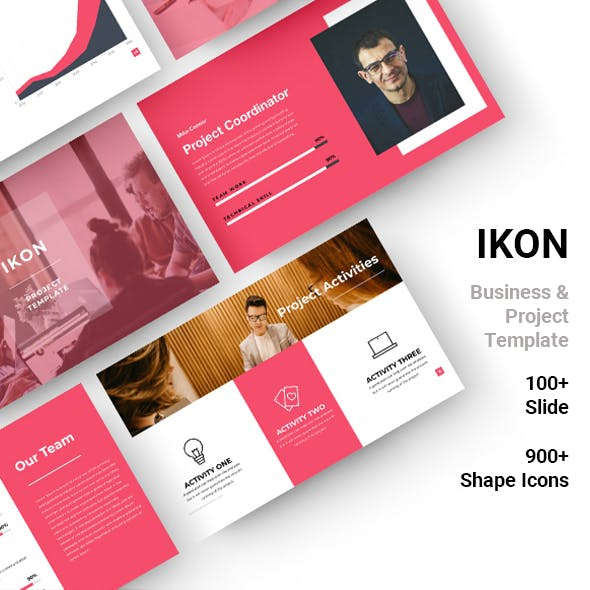 IKON Business & Project Template (Googleslide)