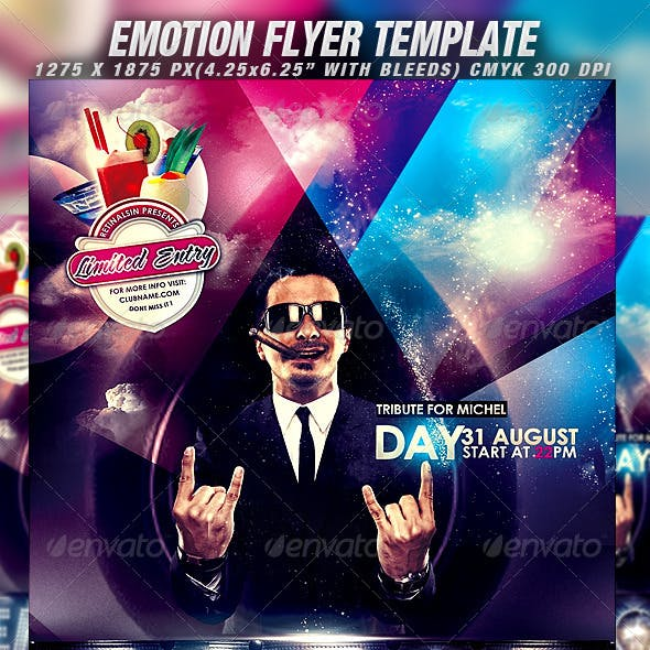 Emotion Flyer Template