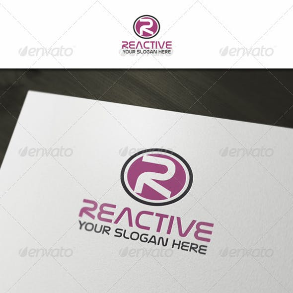 R - Abstract Letter Logo