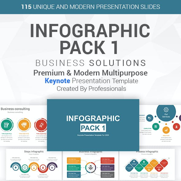Infographics Pack-1 Keynote Presentation Template
