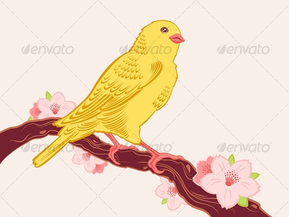 Symbol of spring - Animals Characters