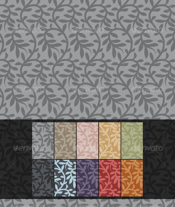 Vines Tapestry Seamless Tile - Patterns Decorative