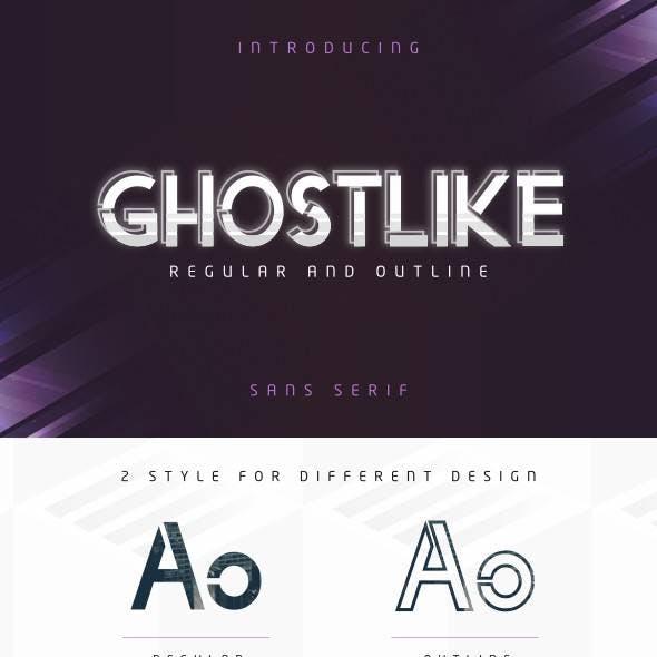 Ghostlike Font