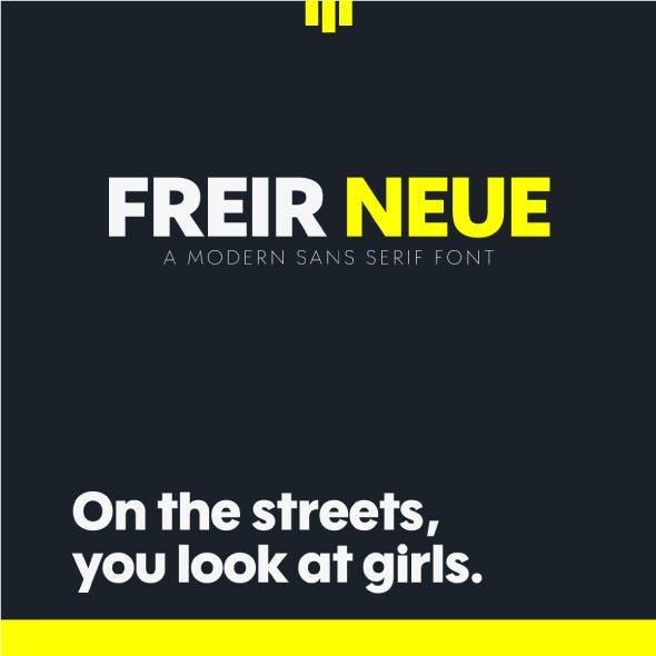 Freir Neue Font