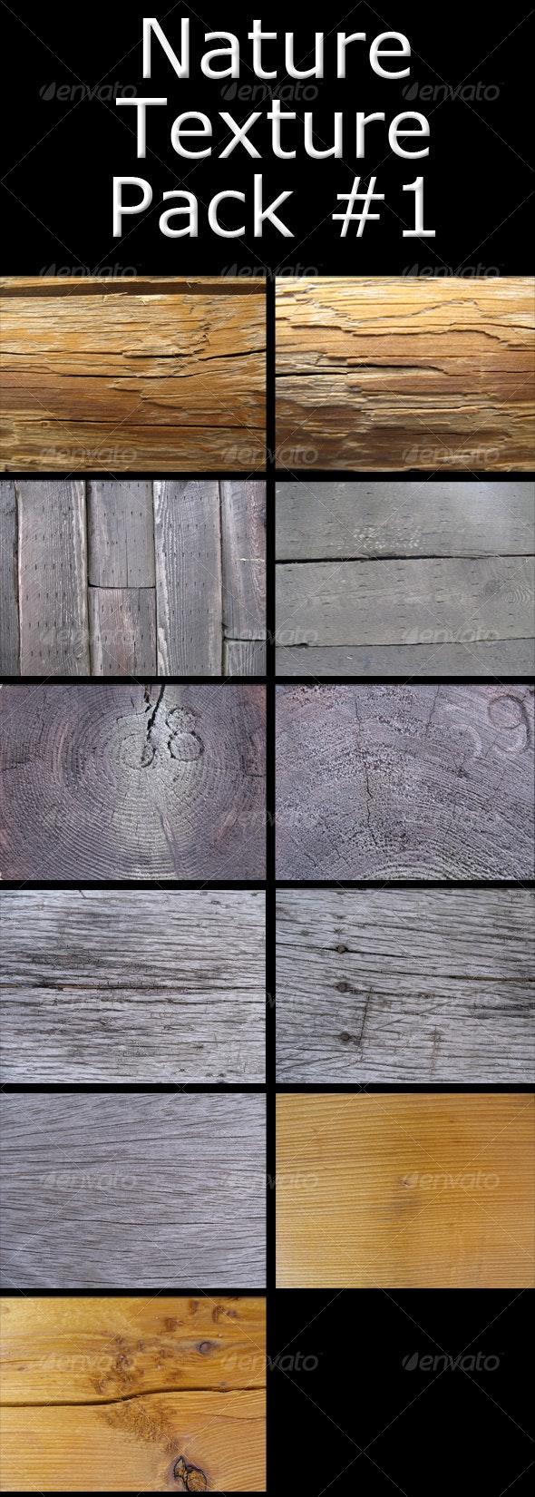 Assortment of 11 Wood Textures - Wood Textures