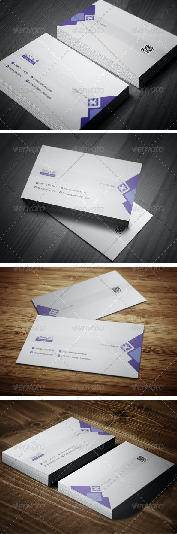 Neat Business Card  - Corporate Business Cards