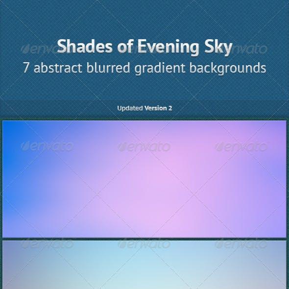 Shades of Evening Sky