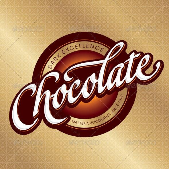 Chocolate Packaging Design - Decorative Vectors