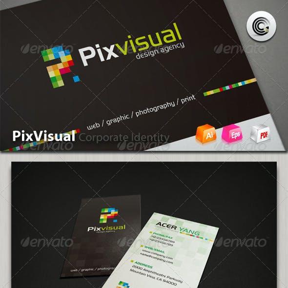 Pix Visual Design Agency Corporate Identity