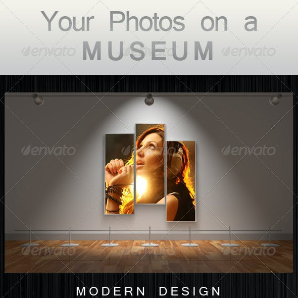 Your Photos on a Museum