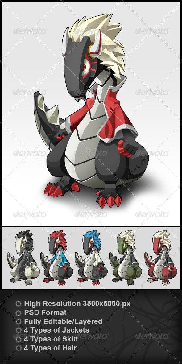 Dragon - Characters Illustrations