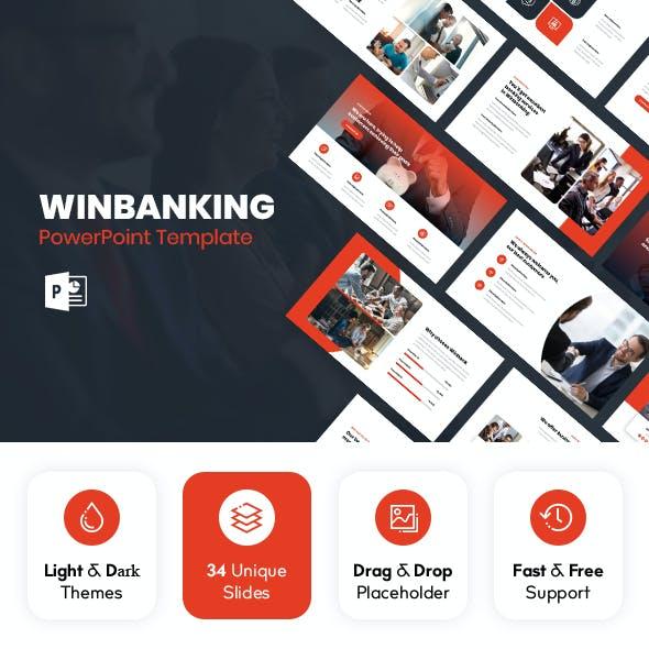 Winbanking - Finance Powerpoint Template