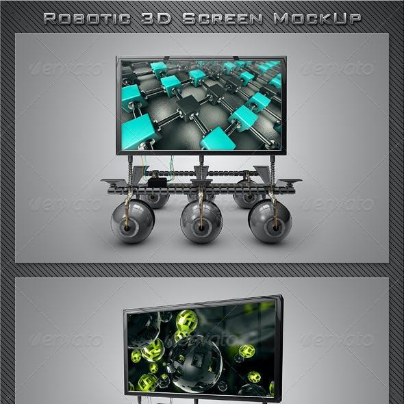 Robotic 3D Screen MockUp