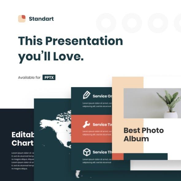 Standart - Powerpoint Presentation Templates