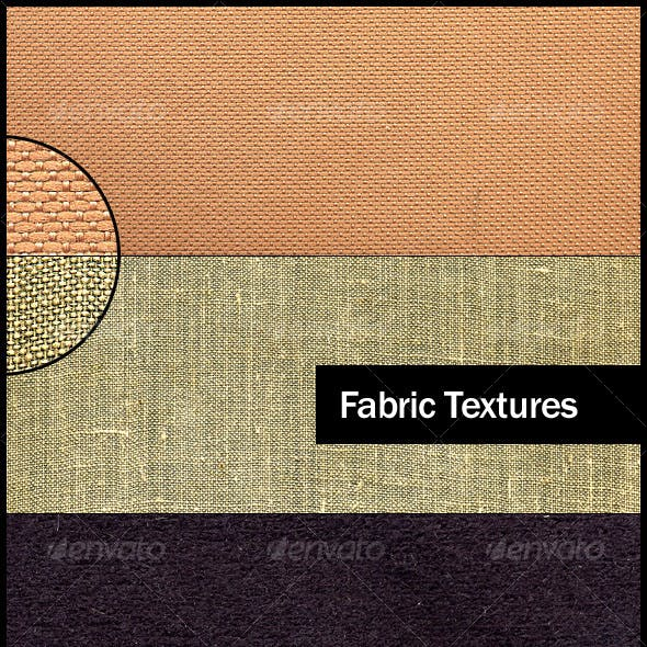 4 Small Grain Fabric Textures