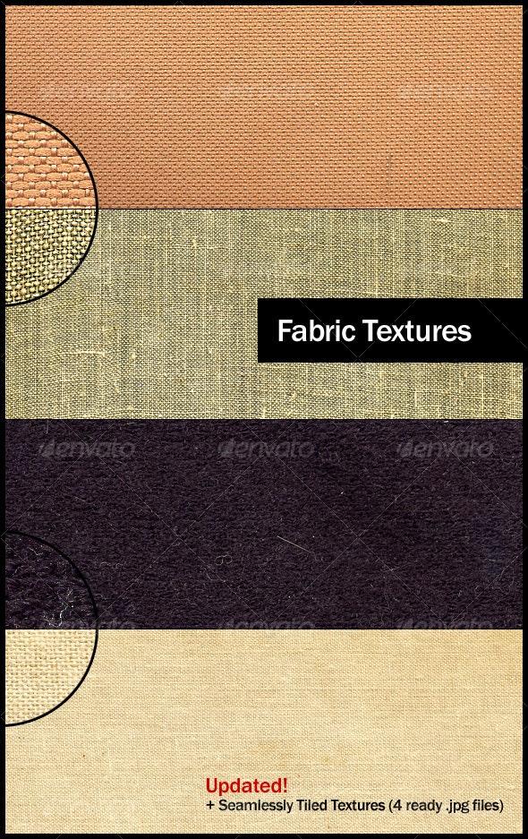 4 Small Grain Fabric Textures - Fabric Textures