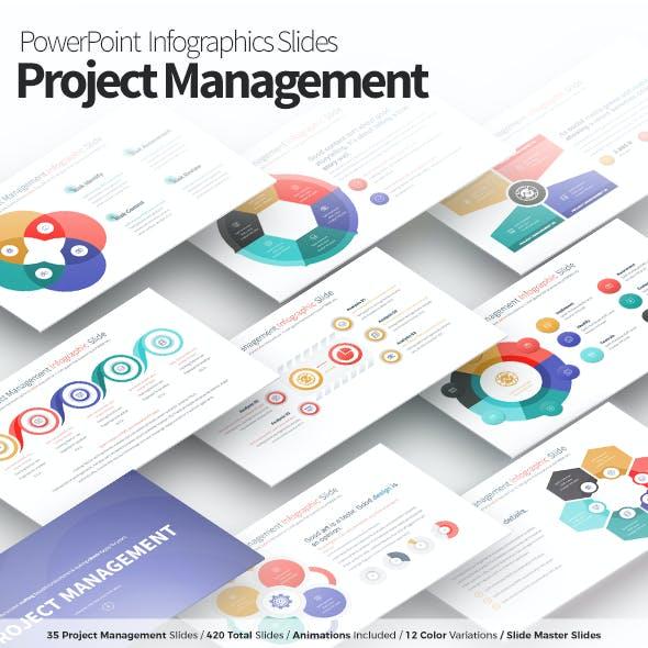 Project Management - PowerPoint Infographics Slides