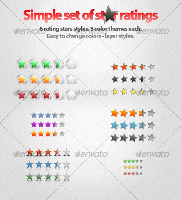 A Simple Star Ratings! - Miscellaneous Web Elements