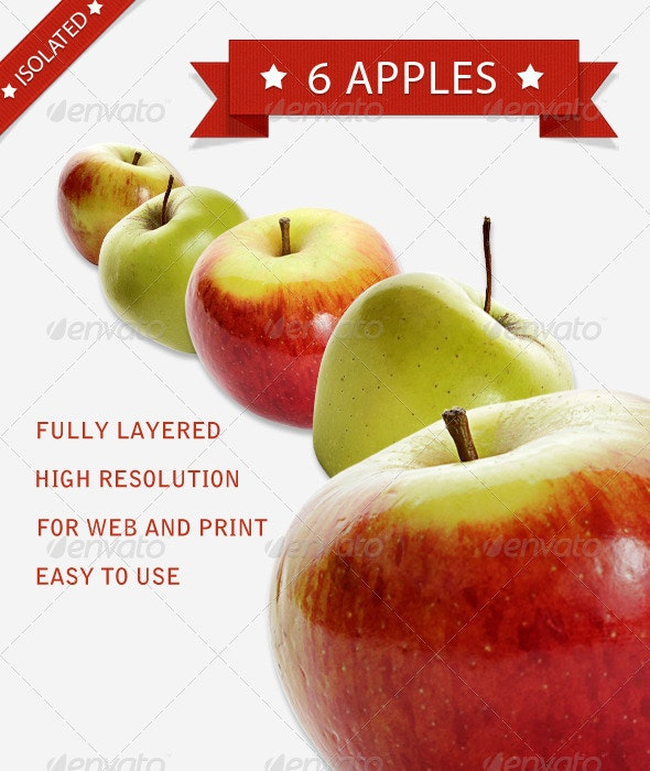 Apple Pack - Food & Drink Isolated Objects