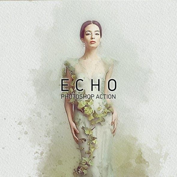 ECHO | Universal Paint Sketcher Photoshop Action