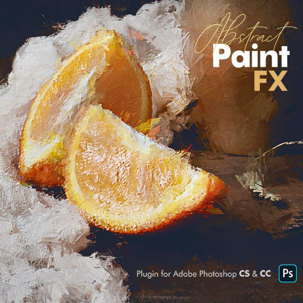 Abstract Paint FX Photoshop Add-On