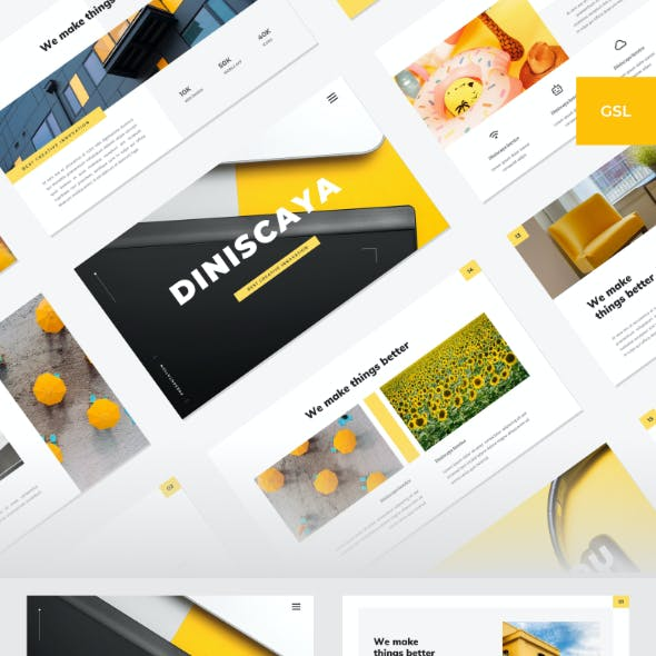 Diniscaya - Business Google Slides Template