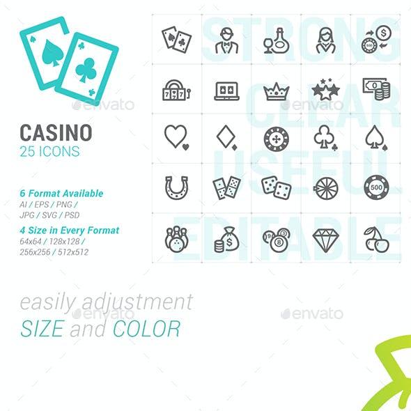 Casino & Gambling Mini Icon