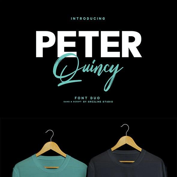 Peter Quincy - Font Duo