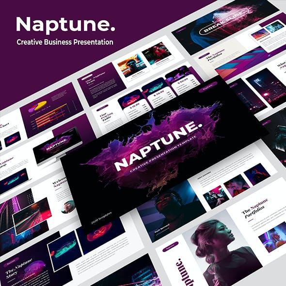 Naptune - Creative Business PowerPoint Template
