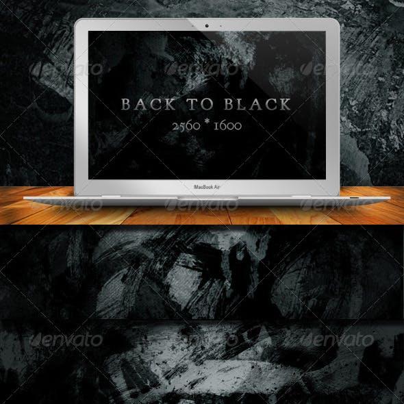 10 Back To Black Grunge Backgrounds
