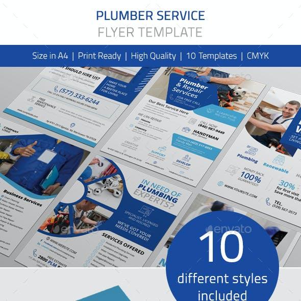 Plumber Service Flyer Vol.1