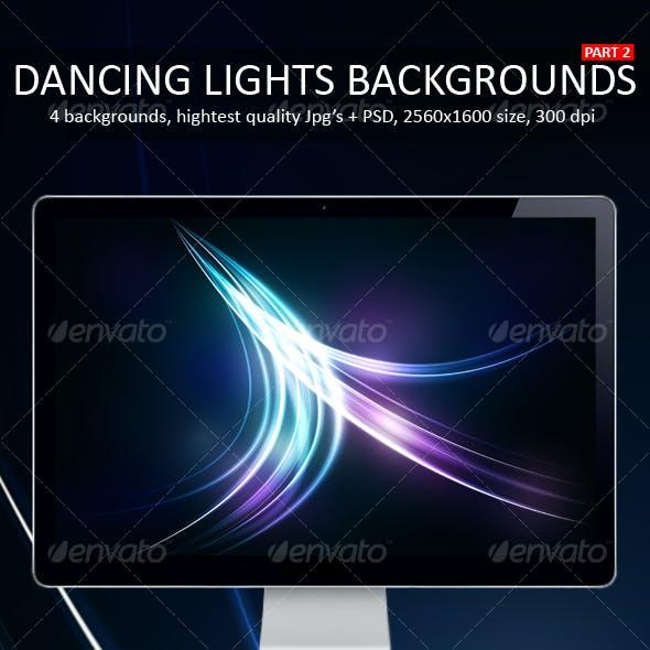 Dancing Lights Backgrounds Part 2