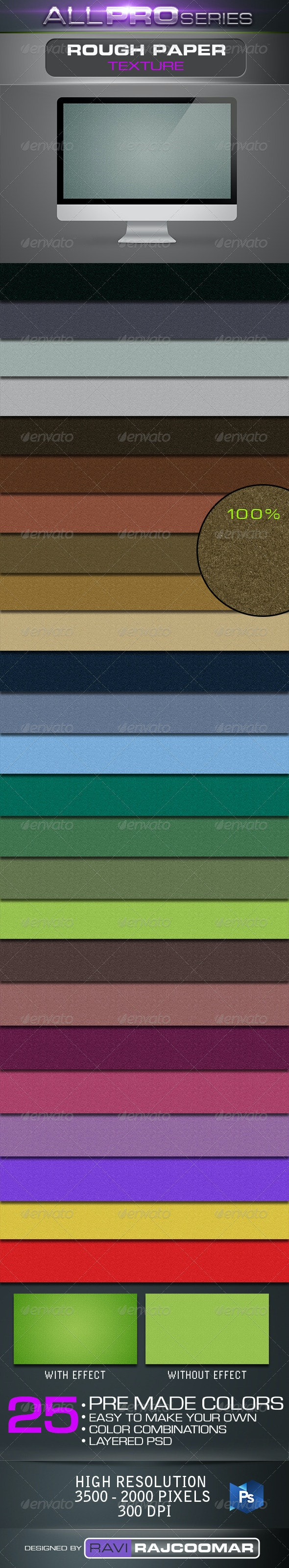Rough Paper Texture - Patterns Backgrounds