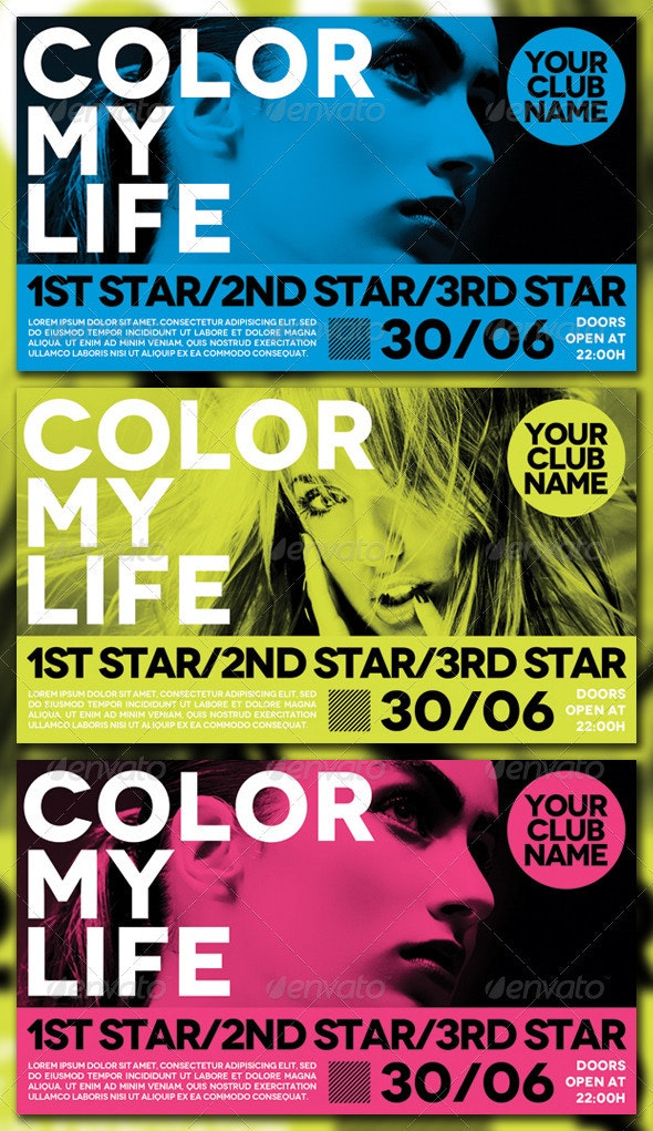 Color my Life - Clubs & Parties Events