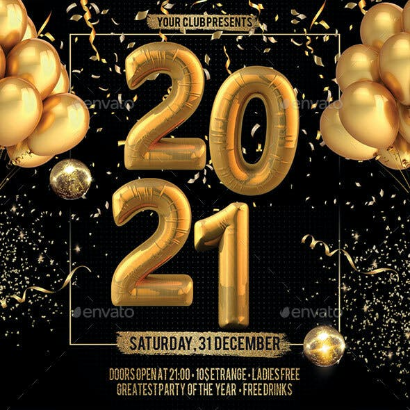 2021 New Years Eve