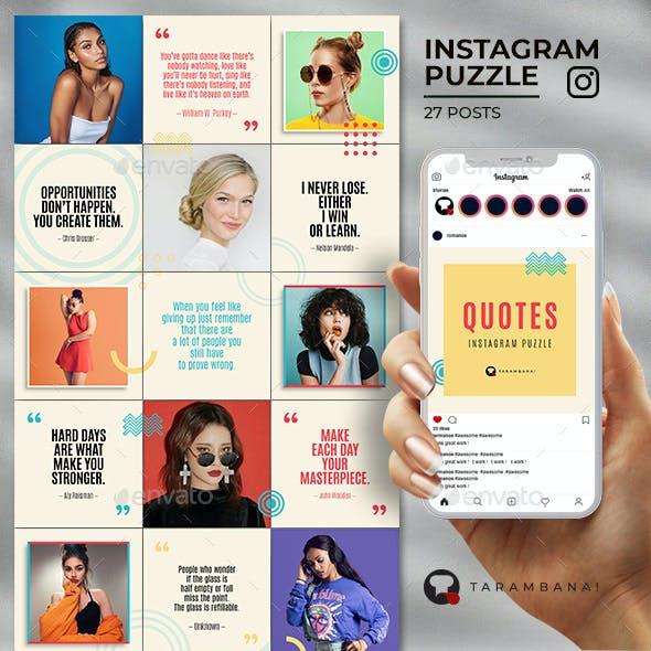 Quotes - Instagram Puzzle