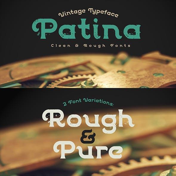 Patina Font