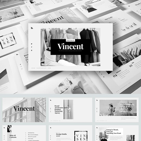 Vincent Keynote Templates