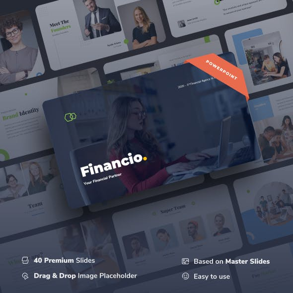Financio - Financial Partner Power Point Template
