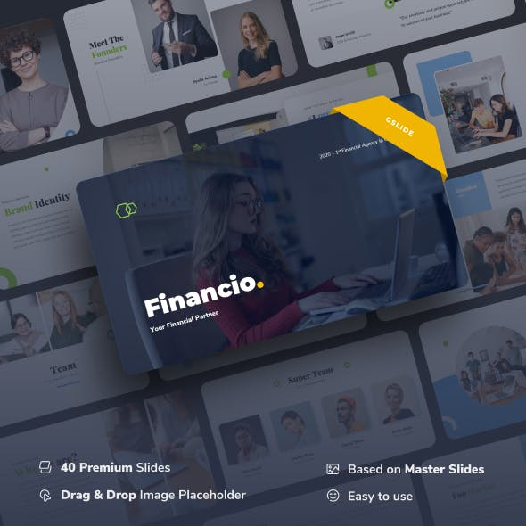 Financio - Financial Partner Google Slides Presentation