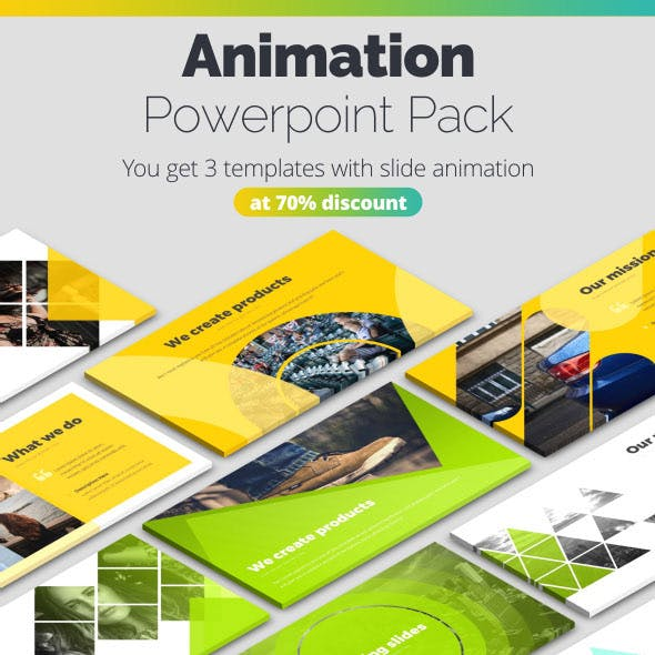 Pitch Deck Animated Bundle