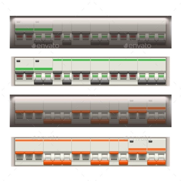 Electric Switches Set