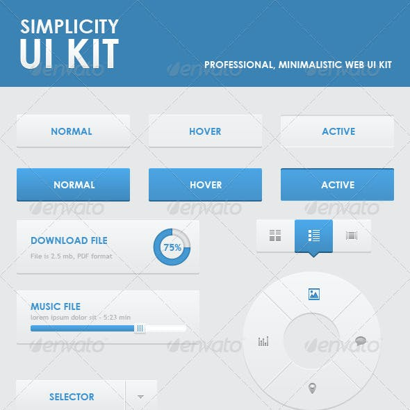 Simplicity Ui Kit