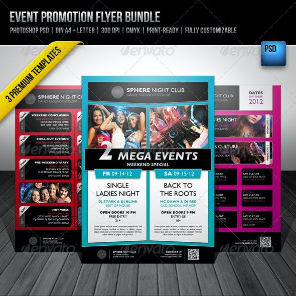 Event Promotion Flyer Bundle