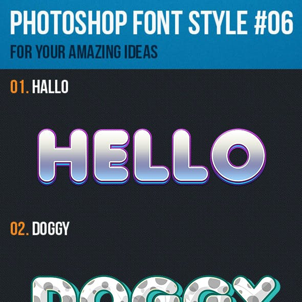 10 Font Style for Game Logo #06