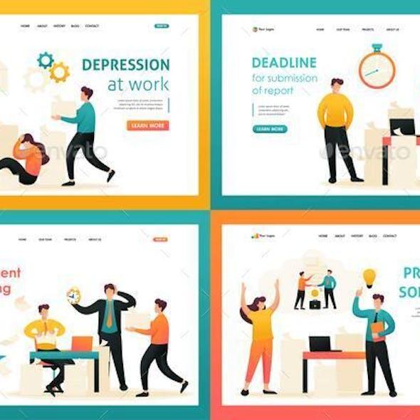 Flat 2D Concepts Problem Solution, Document Handling, Depression at Work