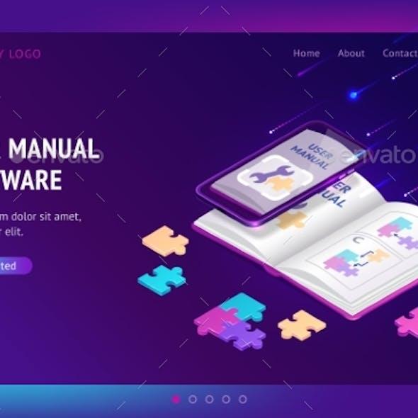 User Manual Software Isometric Landing, Web Banner