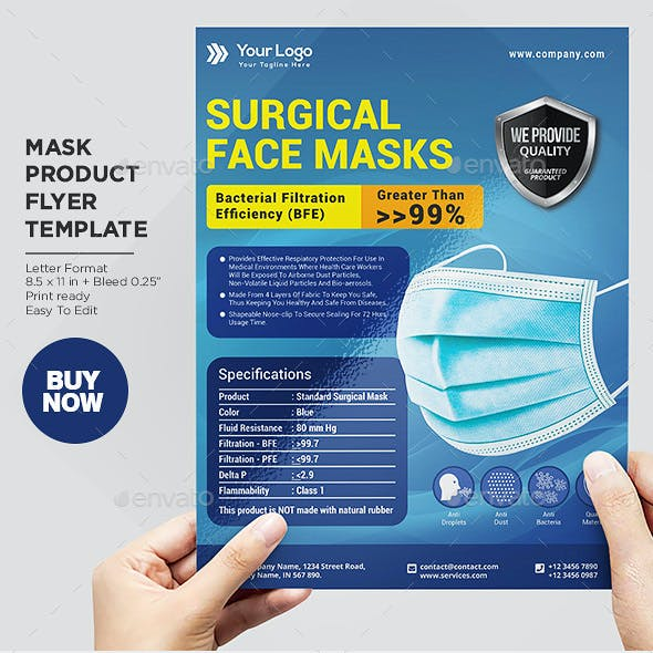 Product Flyer Surgical Mask